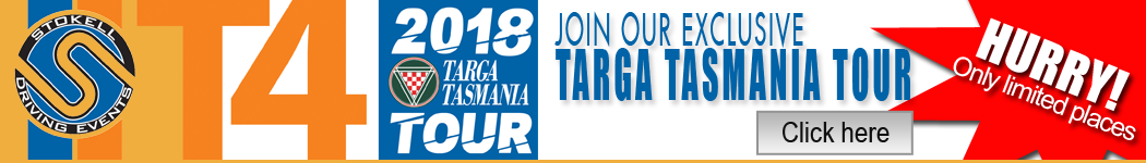 Join our T4 - Targa Tasmania Tour 2018
